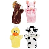 Get Ready Kids® Animal Puppets, Farm Puppet, Set 1