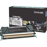 Lexmark C746H1KG Black Toner Cartridge, High Yield