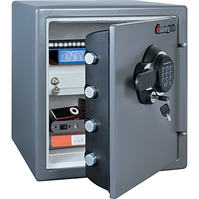 Sentry®Safe Fire-Safe® Electronic Safe; 1.23 Cu. Ft.