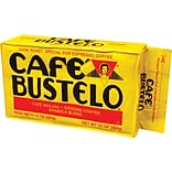 Cafe Bustelo® Espresso Ground Coffee, Dark Roast, 10 oz. Brick (1720)