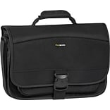 SOLO Classic 15.6 Expandable Messenger Bag, Black