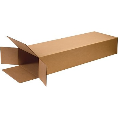 18(L) x 6(W) x 45(H) Shipping Boxes, 32 ECT, Brown, 5 /Bundle(HD18645FOL)