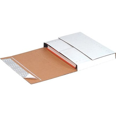 11 1/8 x 8 5/8 x 2 -  Deluxe Easy-Fold Mailers, 25/Bundle