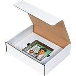 Partners Brand CD Literature Mailer Kits, 11 1/8 x 8 3/4 x 3, White, 50/Bundle (CDLM1183)