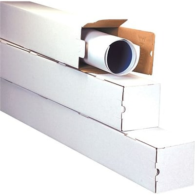 3 x 3 x 12 -  Square Mailing Tube, 25/Bundle