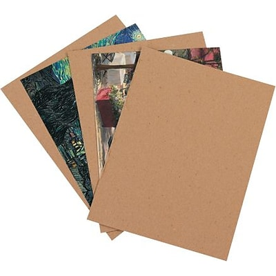 16 x 16 - Staples Chipboard Pad, 350/Case