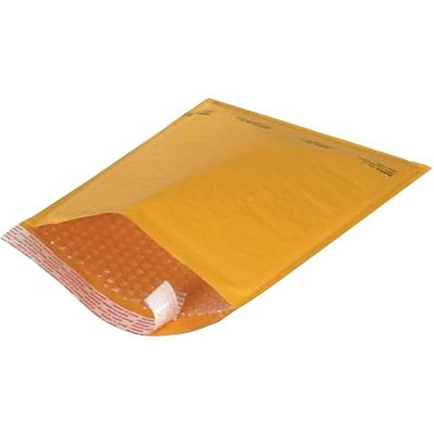 9 1/2 x 14 1/2 Kraft #4 Self-Seal Bubble Mailer, 100/Case