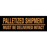 Tape Logic Must Be Delivered Intact Shipping Label, 3 x 10, 500/Roll