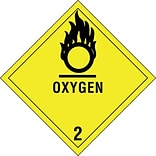 Tape Logic 4x4 Oxygen - 2 Shipping Label