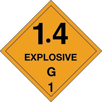Tape Logic 1.4 - Explosive - G 1 Tape Logic Shipping Label, 4 x 4, 500/Roll