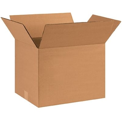 14(L) x 12(W) x 10(H) Shipping Boxes, 32 ECT, Brown, 25 /Bundle(HD141210)