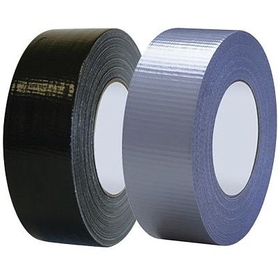 Tape Logic Industrial Cloth Duct Tape, Black, 2 x 60 Yards, 3/Pack