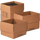 24(L) x 18(W) x 24(H) Shipping Boxes, 32 ECT, Brown, 3 /Bundle(MBCOMBO2)