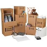 20(L) x 45(W) x Adjustable(H) Shipping Boxes, 32 ECT, Brown, 1 /Bundle(MKIT2)