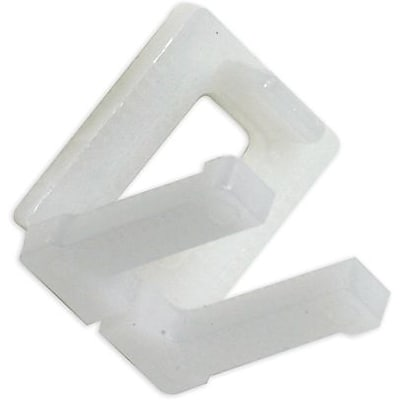 Plastic Buckles Poly Strapping Buckles; 1/2, 1000/Case