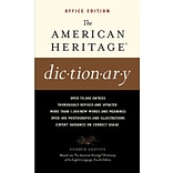 American Heritage® Dictionary; Office Edition, Paperback