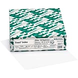Wausau Paper® Exact® Index Card Stock, White, 8 1/2(W) x 11(L), 250/Pack