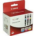 Canon® CLI-226 Ink Tank Cartridges Tri-Color Multi-pack (3 cart per pack)