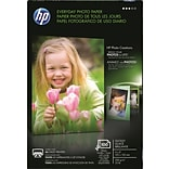 HP Everyday Glossy Photo Paper; 4 x 6