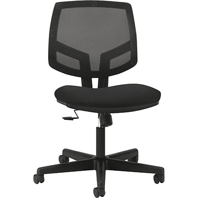 HON Volt Task/Computer Chair, Fabric, Black, Seat: 19 1/4W x 17.88D, Back: 18W x 18 3/4H NEXT2017 NEXT2Day