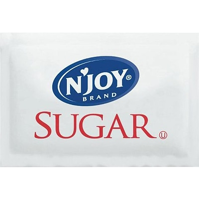 Sugarfoods® NJoy® Pure Cane Sugar, Packets, 2000/Box