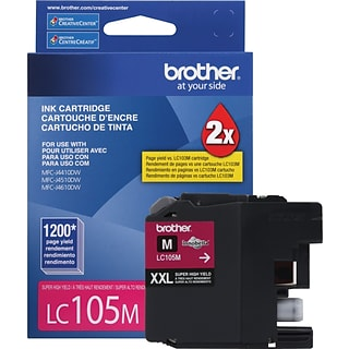 Brother Ink Cartridge; Magenta, Super High Yield (LC105M)