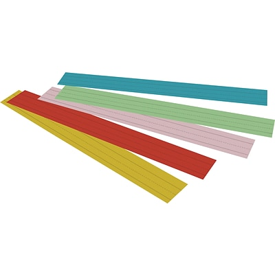 Pacon® Sentence Strips, Assorted Colors