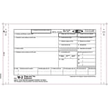 TOPS® W-2 Tax Form, 5 Part, Carbonless, White, 9 1/2 x 5 1/2, 100 Forms/Pack