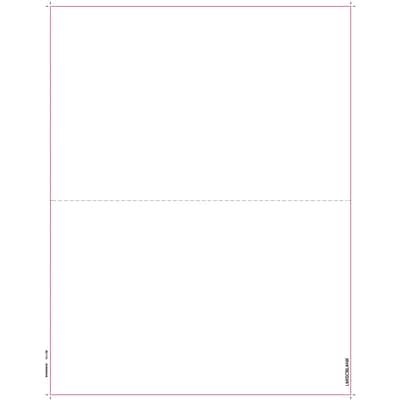 TOPS® 1099MISC Tax Form, 1 Part, Blank face with Copy B backer, White, 8 1/2 x 11, 50 Sheets/Pack