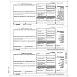 TOPS® 1099MISC Tax Form, 1 Part, Recipient - Copies B, 2 & 2, White, 8 1/2 x 11, 50 Sheets/Pack,