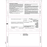 TOPS® 1099S Tax Form, 1 Part, White, 8 1/2 x 11, 500 Sheets/Pack