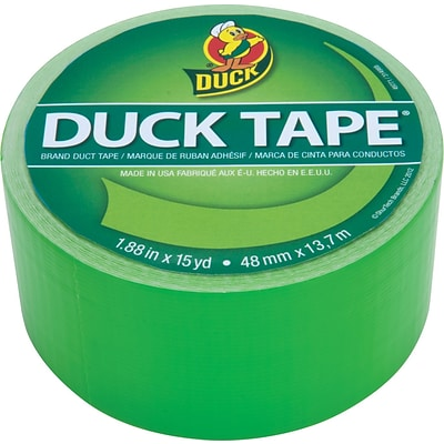 Duck Tape® Brand Colored Duct Tape, Neon Green