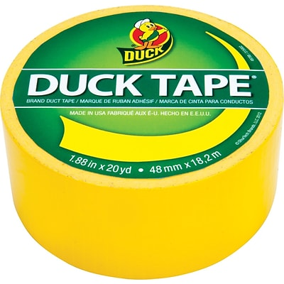 Duck Tape® Brand Colored Duct Tape, Yellow
