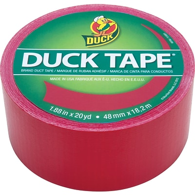 Duck Tape® Brand Colored Duct Tape, Red