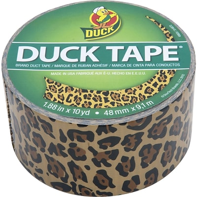Duck Tape® Brand Colored Duct Tape, Leopard Print