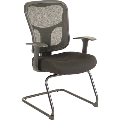 Tempur-Pedic® TP8100 Ergonomic Mid-Back Guest Chair, Black
