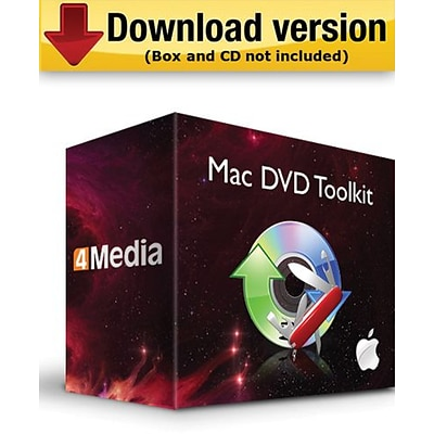 4Media DVD Toolkit for Mac (1-User) [Download]