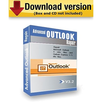 Advanced Outlook Repair (Download Version)