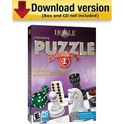 Hoyle Puzzle and Board Games 2012 for Windows (1-User) [Download]