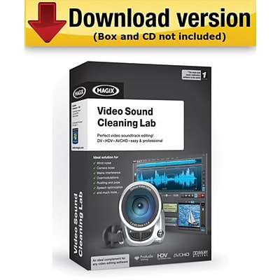 MAGIX Video Sound Cleaning Lab (Download Version)
