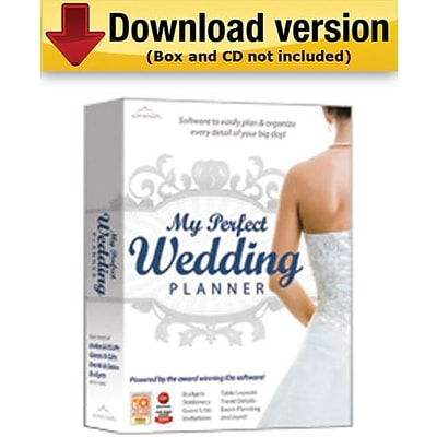 My Perfect Wedding Planner for Windows (1 - User) [Download]