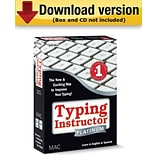 Typing Instructor Platinum for Mac (1-User) [Download]