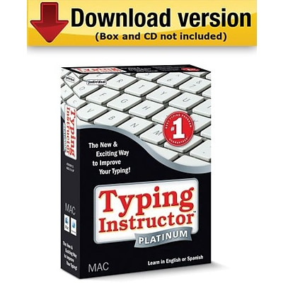Individual Software Typing Instructor Platinum for Mac (Download Version)