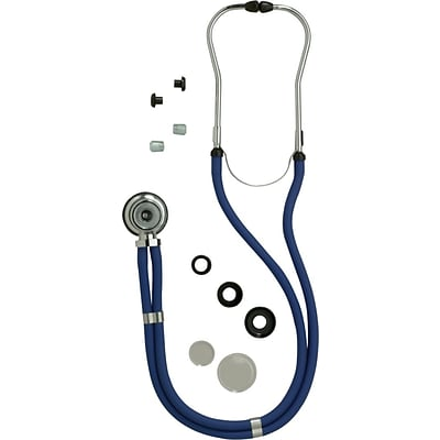 Medline Sprague Rappaport Stethoscopes, Black