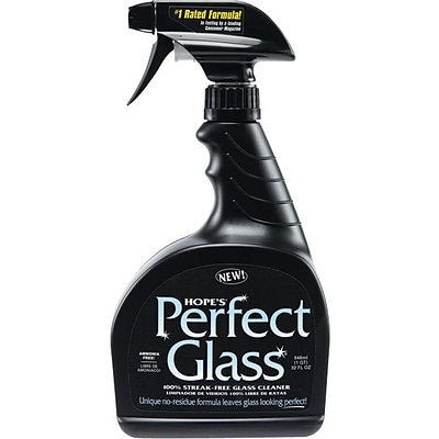 Hopes® Perfect Glass, Glass Cleaner, Fresh and Clean Scent, 32 oz.