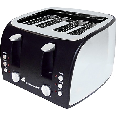 Coffee Pro® 4-Slice Multi-Function Toaster with Adjustable Slot Width