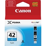 Canon CLI 42C Cyan Ink Cartridge, Standard (6385B002)