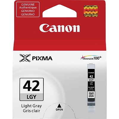Canon CLI-42LGY Light Gray Ink Cartridge (6391B002)