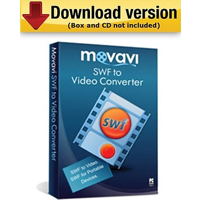 Movavi SWF to Video Converter - Business for Windows (1-User) [Download]
