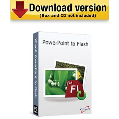 Xilisoft PowerPoint to Flash for Windows (1-User) [Download]